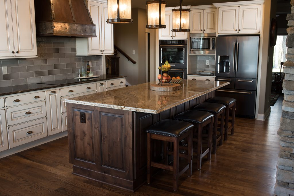 Rustic Kitchen on Tranquility Ridge