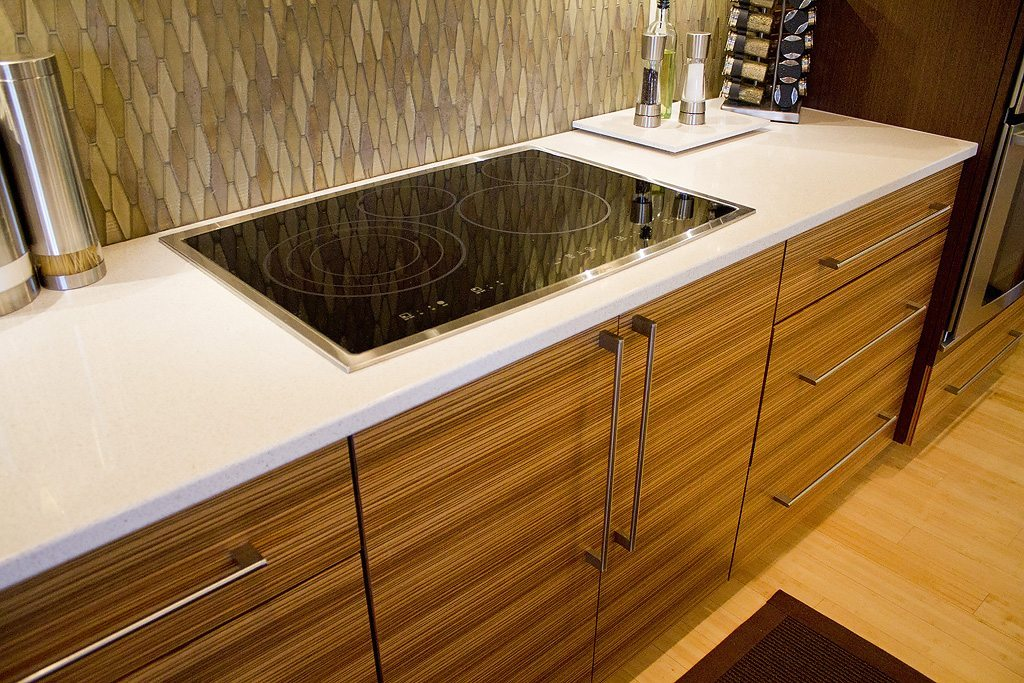 mouser kitchen remodel in wenge zebrawood standard kitchen bath. Black Bedroom Furniture Sets. Home Design Ideas