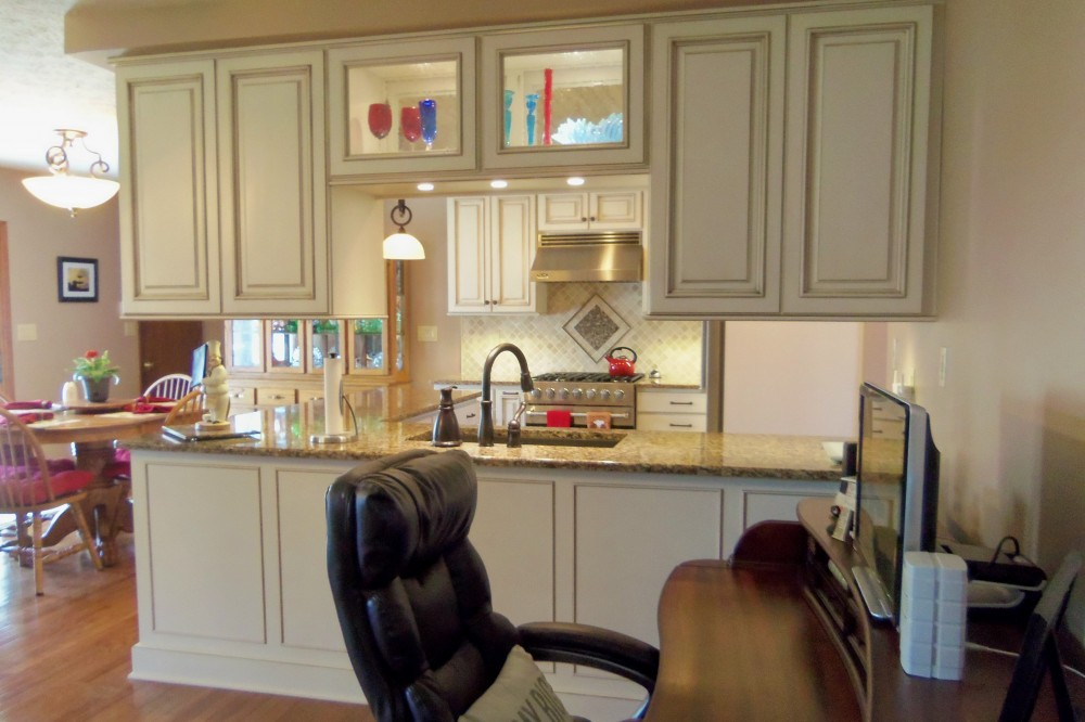 Kitchen transformation in sole design cabinetry standard for Kitchen design knoxville