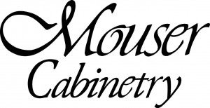 Mouser Cabinetry Logo_bw_stacked
