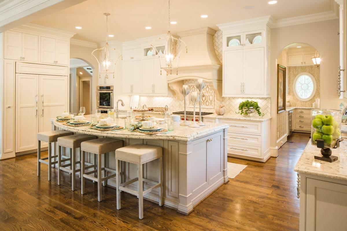 Custom kitchen standard kitchen bath kitchen for Typical kitchen