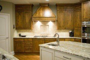 Rustic Alder Kitchen Parade Home   Standard Kitchen & Bath   Knoxville Kitchen Cabinets