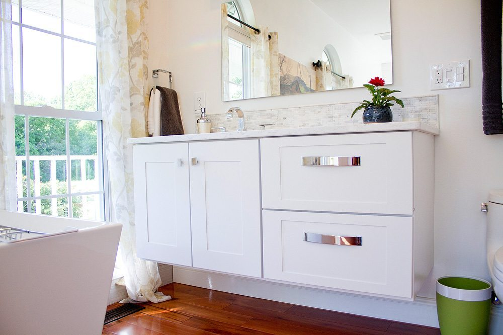 Standard kitchen bath natural white master bathroom for Bath remodel knoxville
