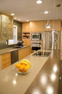 Contemporary Mouser Prizma Natural Maple   Kitchen Gallery Knoxville TN   Standard Kitchen & Bath