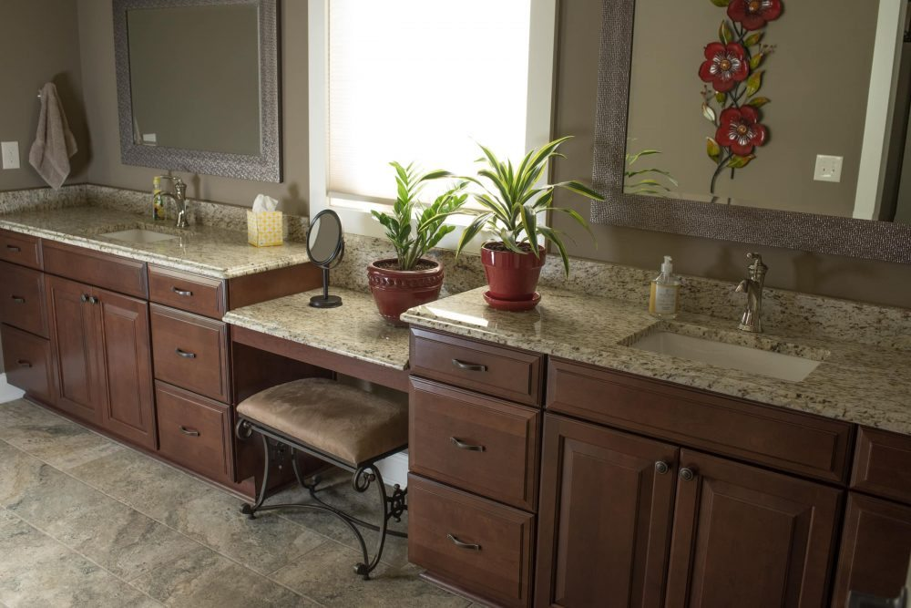 Bath remodel knoxville custom cherry cabinets standard for Bath remodel knoxville