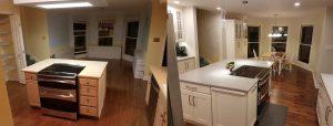 modern kitchen remodel knoxville