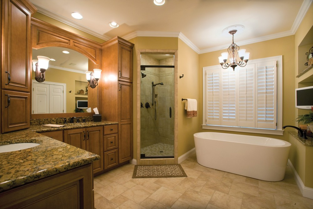 Standard kitchen bath bathroom gallery standard for Custom bathroom designs