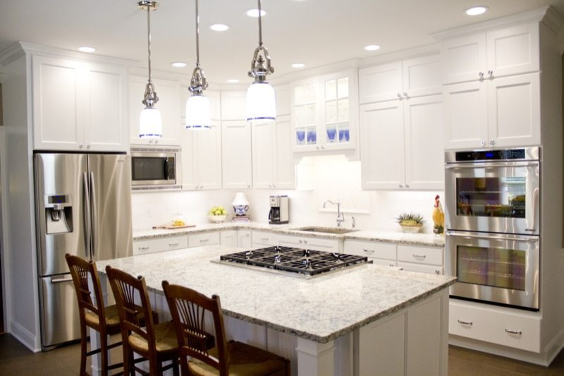 Classic White Kitchen standard kitchen & bath | classic white kitchen - standard kitchen